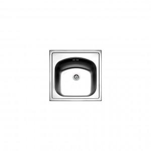 Νεροχύτες - FORTINOX VALLEY 24050 ΝΕΡΟΧΥΤΗΣ ΑΝΟΞΕΙΔΩΤΟΣ ΕΝΘΕΤΟΣ 44.5X44.5 ΝΕΡΟΧΥΤΕΣ