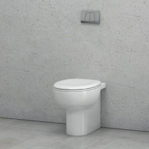 Είδη Υγιεινής - Λεκάνη Paros MFZ 38D Back to Wall / 47.5εκ. ΕΙΔΗ ΥΓΙΕΙΝΗΣ
